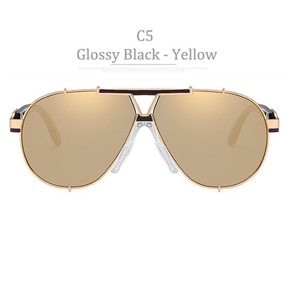 C5 Montatura in oro lucido Miror in oro giallo