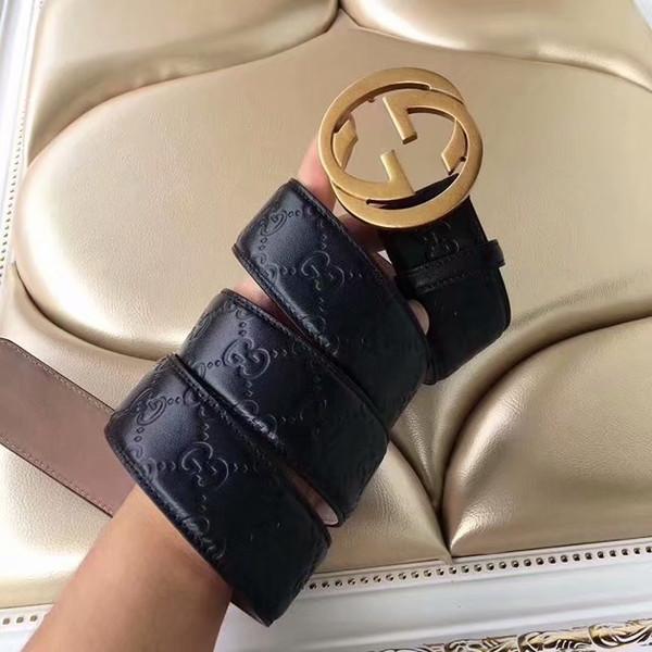 Hot sale 4colors buckle Designer Belt High Quality Designer Luxury Belt For Men or Women Genuine Leather Belts Gold Buckle for gift