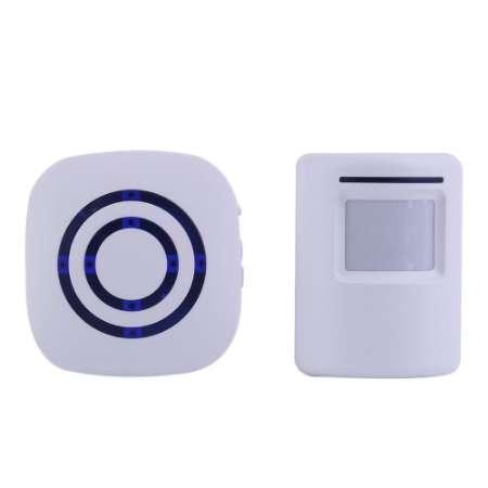Professional Wireless Digital Doorbell with PIR Sensor Infrared Detector Induction Alarm Door Bell Home Security Brand New