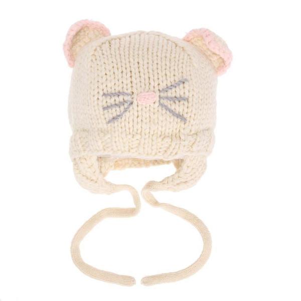 Compre Bebés Bebés Niñas Sombrero Niños Invierno Cálidos Sombreros ...
