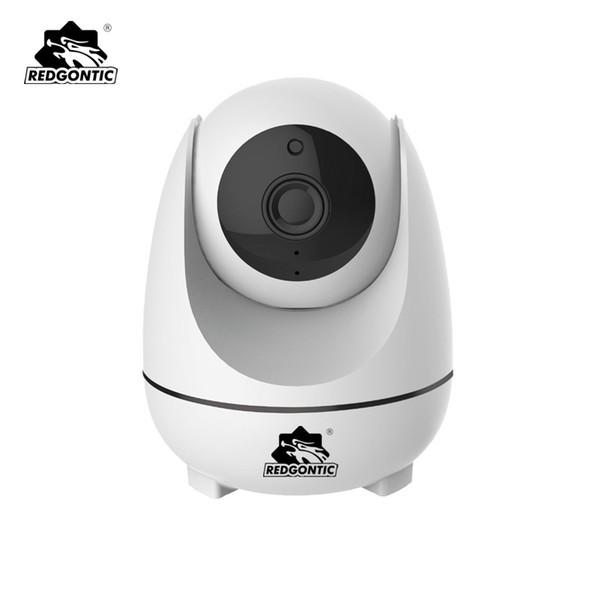 Redgontic Беспроводная IP-камера 1080P автоматическое отслеживание обнаружения движения Wi-fi CCTV камеры домашней безопасности монитор младенца PTZ камеры