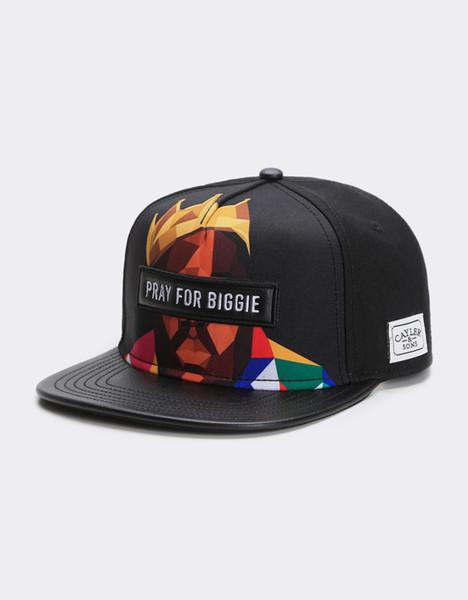 Бесплатная доставка дешевые высокое качество шляпа классическая мода хип-хоп бренд мужчина женщина snapbacks черный / MC CS WL BIGASSO CAP