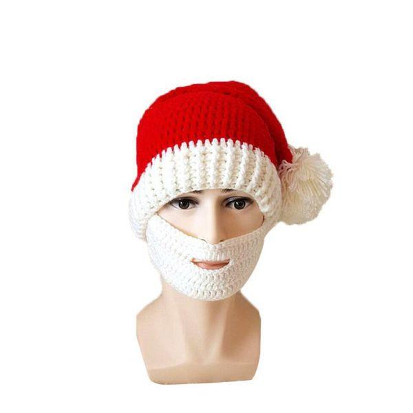 Compre Invierno De Navidad De Punto Crochet Gorros Sombreros De ...