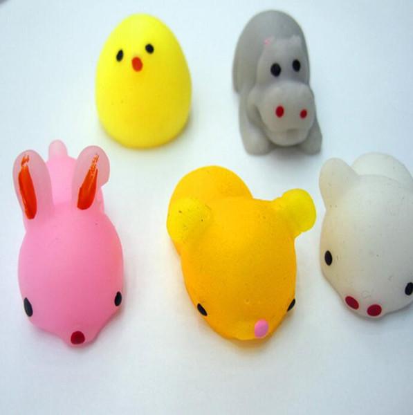 top popular Squishy Slow Rising Jumbo Toy Bun Toys Animals Cute Kawaii Squeeze Cartoon Toy Mini Squishies Squishiy Fashion Rare Animal Gifts Charms 2020