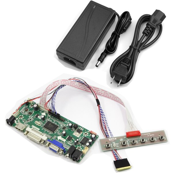 Customized controller board for laptop screen HDMI VGA DVI Input Any Connector 20pin 30pin 40pin Any Size 7.0