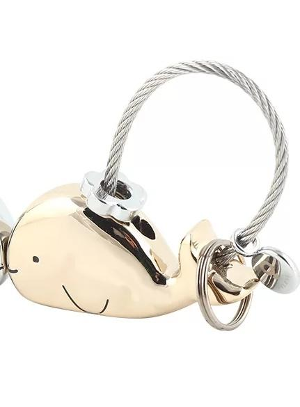 Pig Key Ring Female Small Gift of Year of the Pig Personality Mobile Phone Plush Pendant Hung up a Korean Cartoon Lady
