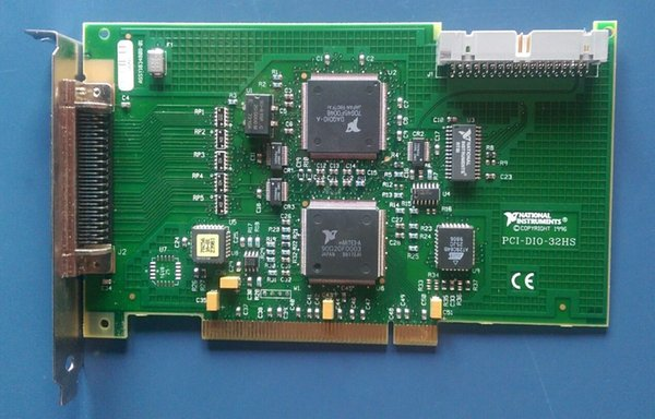 top popular Industrial equipment board ni PCI-DIO-32HS 183480B-01 2019