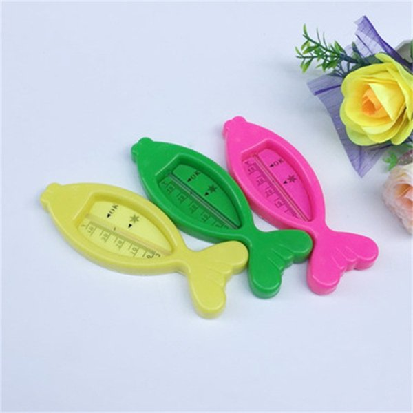 Water Thermometers Kid Floating Fish Cute Baby Care Bath Shower Product Plastic Float Baby Boy Girl Bath ToyTester 0 65xs dd