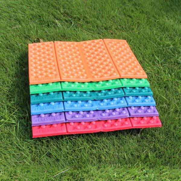 Outdoor Portable Foldable EVA Foam Mat Waterproof Moisture-proof Cushion Seat Pad for Hiking Camping Travel Honeycomb Mat New