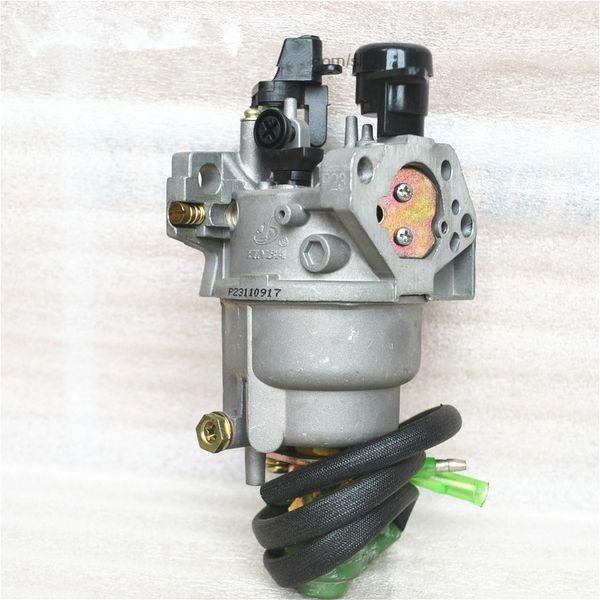 Carburador (estilo A) para Honda GX340 EC5500 5KW Motor con pieza de repuesto para válvula solenoide