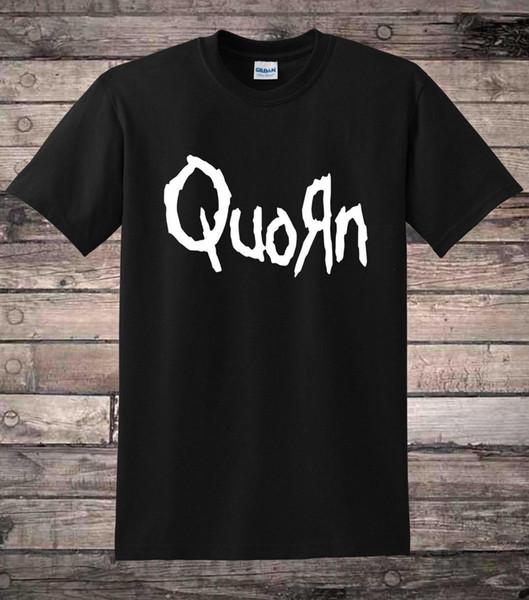 Quorn Смешные Веганский Ну Металл Панк-Рок Вегетарианская Футболка