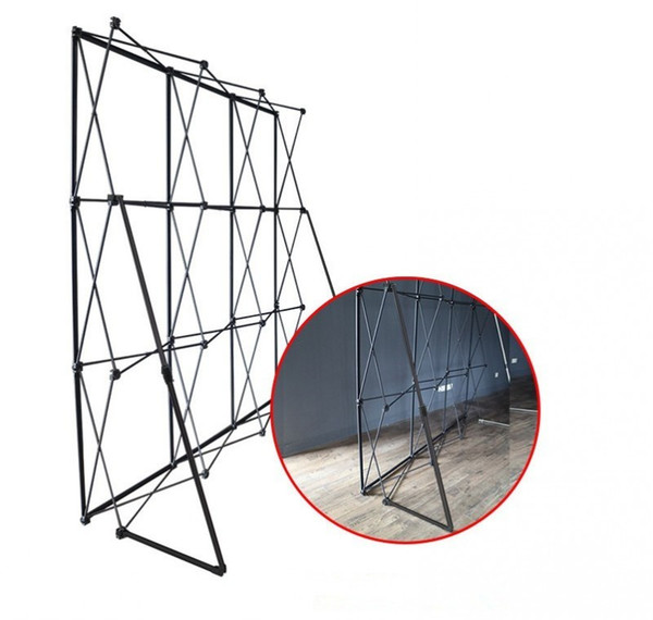 20ft*10ft Aluminum flower Wall stand frame for Tradeshow Straight Tension Banner Exhibition Display Stand Trade Show Wall