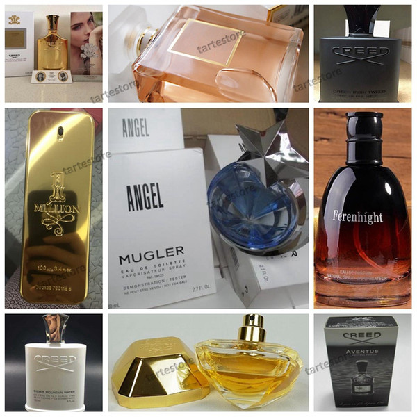 Nuevos perfumes Colonia 14 Perfume estilo para mujeres y hombres Fragancia y incienso de buena calidad En stock Envío gratuito