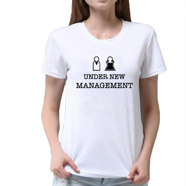 Sotto NUOVO Management Divertente Da Donna T-shirt