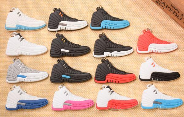 NEW Shoes Keychain Bag Charm Woman Men Kids Key Ring Key Holder Gift Sneaker Key Chain Sport Shoes Keychain car Keychains