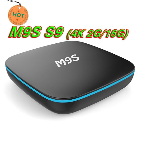 2018 Best HOT High Quality M9S S9 4K RK3229 1G+8G 2GB 16GB Android 7.1 TV Box H.265 Smart Mini PC Support HD Media Player wholesaler