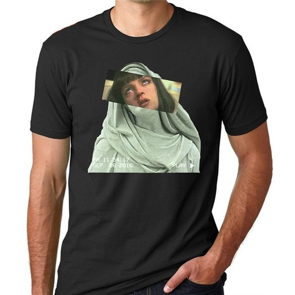 T-shirts personnalisés en ligne ras du cou hommes nouveauté courts T-shirts Mia Wallace
