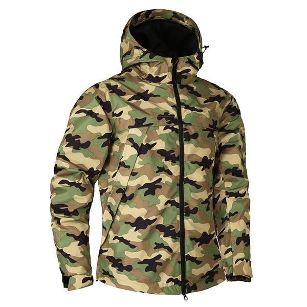 Abbigliamento di marca Cappotto militare giacca mimetica mimetica per uomo autunno nuovo per giacca moda militare impermeabile design maschile
