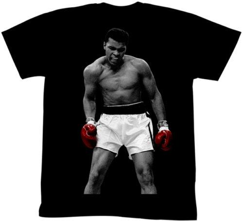 Muhammad Ali Ring Photo Red Gloves Adult T Shirt Boxing Champ Tees Chinese Style Official T-Shirt New 2018 Short Sleeve Hipster O-Neck Tops