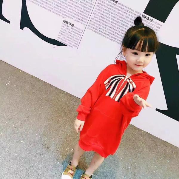 nouveau manteau de sweatshirt de la jeune fille causale mignonne automne manteau à capuche pour 2-8ans filles enfants enfants vêtements de survêtement