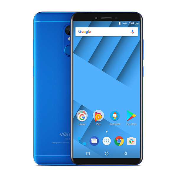vernee m6 smartphone Android Phone 5.7 Inch Fingerprint Mobile Phone 18:9 Screen Cell Phones MT6750 Octa Core 2.5D phone