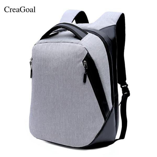 2018 Newest Backpack Women Men Anti thief Laptop Bag Male Canvas Back Back Travel School Bag for Teenager Men