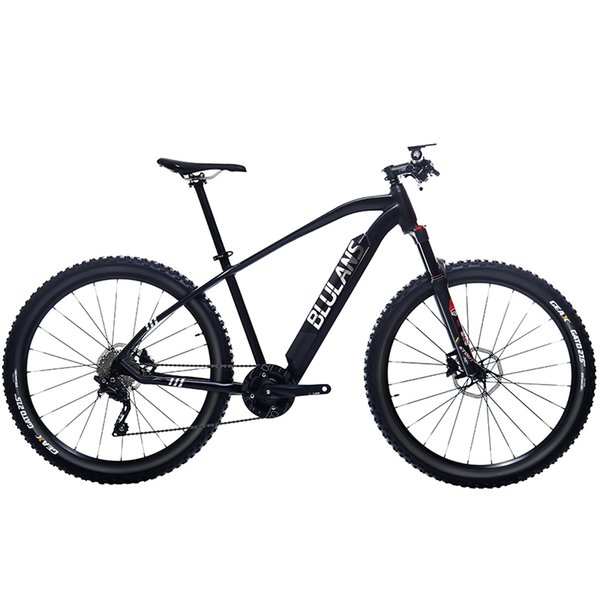 27.5inch electric bicycle 36V lithium battery 250w Mid-motor electric mountain bike Off-road assisted mountain MTB color display