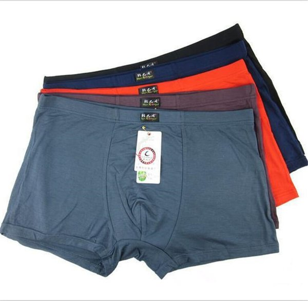 Plus Size! Bamboo Mens Underwear Boxers High Quality Men's Underware Shorts Bamboo Fiber Man Underpants XL, XXL, XXXL, 4XL, 5XL, 6XL
