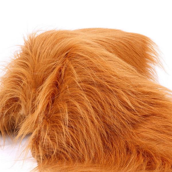 Çok renkler seçeneği peluş oyuncak kumaş 1 metre lüks uzun saç taklit kürk kumaş