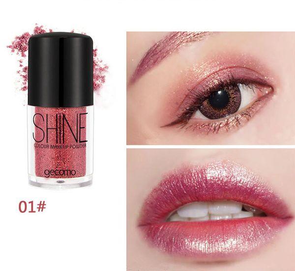 Glitter Shimmer Makeup Glitters Eyes Body 8 Colors Shiny Pigment Powder Maquiagem Lips Loose Make Up Chameleon Colors
