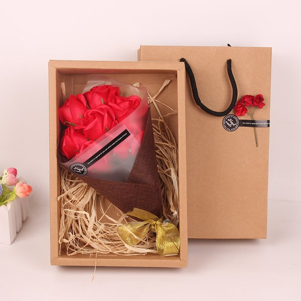 Christmas Gifts For Parents 2019.2019 Christmas Gifts Soap Roses Flowers Gift Boxes Wedding Gifts For Parents Girls Crafts 7 Soap Flowers Home Parties From Excuse2017 13 07