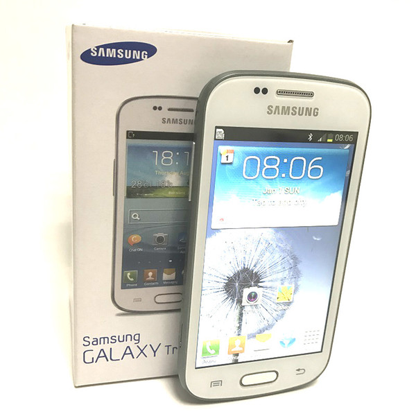 Hot Sale Samsung GALAXY Trend Duos II S7572 S7562I 3G Smart Phone 4.0Inch Screen Android 4.1 Dual Core Unlocked