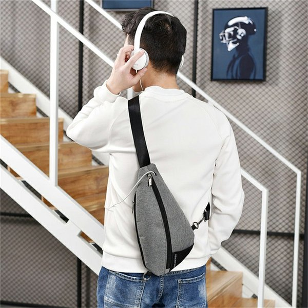 Multifunction Crossbody Bag Listen Music Punk Rock Shoulder Pack Hot Sale Casual Tourism Holiday Messenger Packs Cool Bags 2018