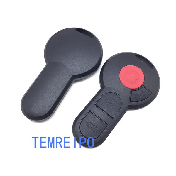 Replacement 2 Buttons Remote Car Key shell Case FOB Shell For VW Beetle Cabrio Golf Jetta Passat