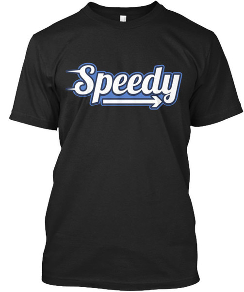 Speedy Logo Standard Unisex T-Shirt T Shirt Men's Best Deals Custom Short Sleeve Boyfriend's XXXL Family Tshirts