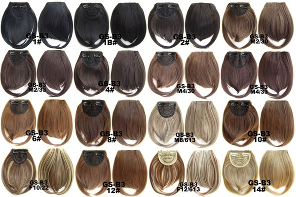 best selling Fashion Europe and the United States chemical fiber high temperature wire two long bangs fake delivery source hot 30 grams