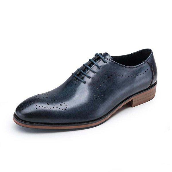 Mens Dress Flat Shoes Luxury Mens