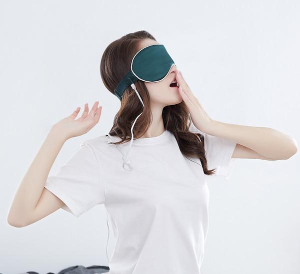 Free Shipping ,Xiaomi Youpin PMA Graphene Heat Silk Eye Mask,Rapid Heat Tech,Portable with Power Bank,Fatigue Relieve,3 Colors for Choice