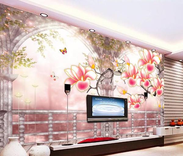 Großhandel Swan Lake Landschaft Landschaft TV Hintergrund Wand Moderne  Wohnzimmer Tapeten Von Yiwuwallpaper1688, $32.17 Auf De.Dhgate.Com | Dhgate