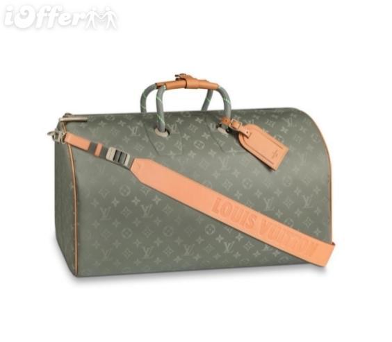 M43886 Bandouliere 50 Titanium Canva Bagages Duffle Bag Messenger Sacs À Bandoulière Sacs À Main Crossbody Totes Boston