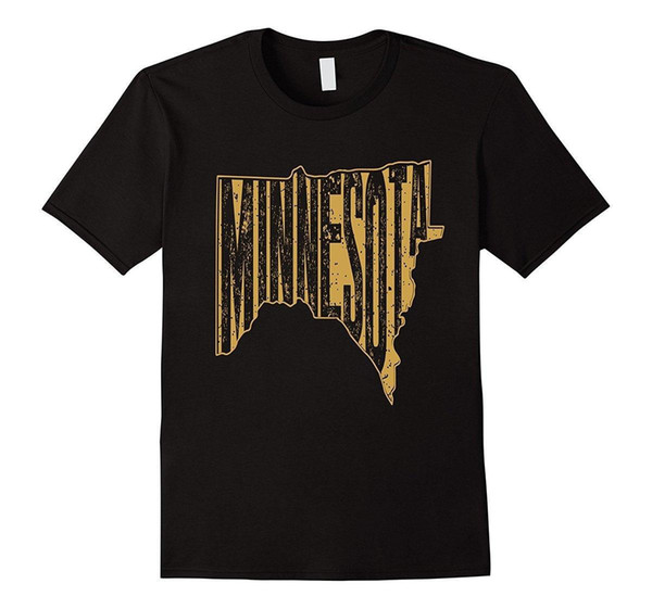 Minnesota Graphic T Shirt Retro T-Shirt for Minnesotans Top Tee for Sale Natural Cotton Tee Shirts T Shirt Short Sleeve Tops