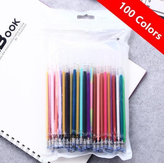 100 색 리필