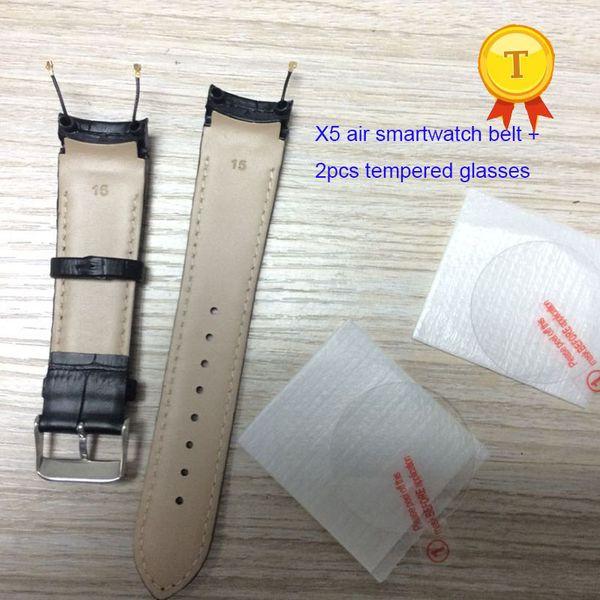 оригинал X5 AIR 3G Smartwatch 1.39 дюймов Android 5.1 телефон часы smart watch наручные часы кожаный ремень ремешок ремешок ремешок группа