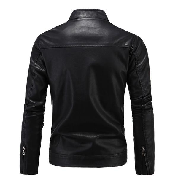 Men/'s Vintage in Pelle Bianco Giacca Da Motociclista Trapuntato