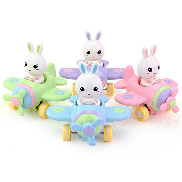 Free shipping baby toy Bunny Friction Car Children Puzzle toy Cars aircraft Boys and girls toy