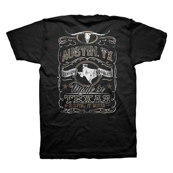 Descuento al por mayor más nuevo 2019 Fashion Stranger Things T Shirt Hombres Vintage Austin Texas Keepin It Weird Texas camiseta