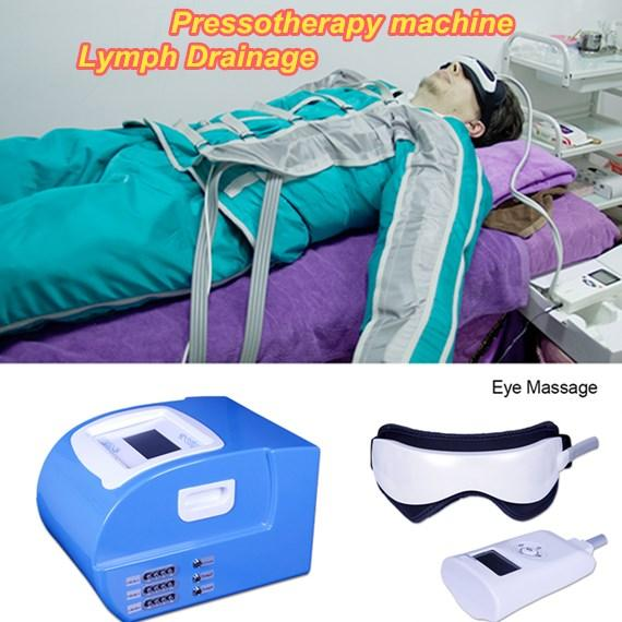 Pro Air Pressure Pressotherapy Blanket Slimming Body Weight Loss Lymphatic Salon Breast Massage beauty machine lymph drainage