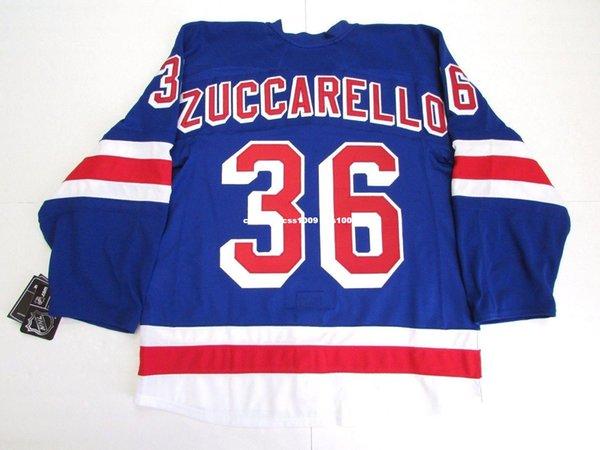 c8de58edb ... shop cheap personalizado zuccarello new york rangers home 90th  anniversary jersey puntada agregar cualquier número cualquier