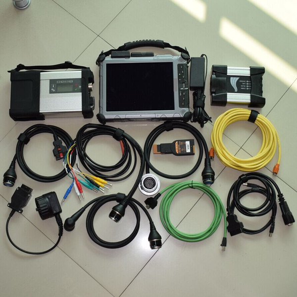 MB Star c5 sd connect + ICOM Next for BMW with 2 in 1tb SSD installed with laptop ix104 tablet