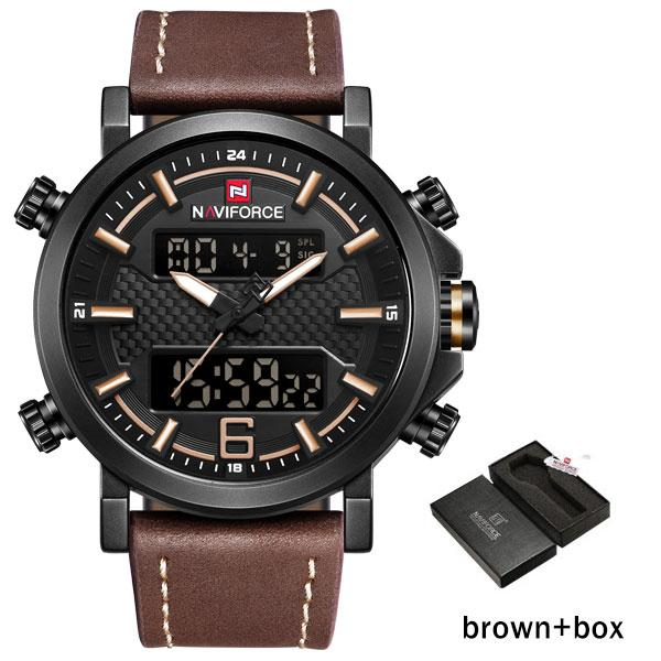 Brown with Box